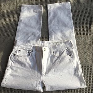 NWOT Gap 1969 White Straight Ankle Jeans 28R